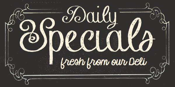 deli menu specials