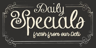 Daily Deli Specials