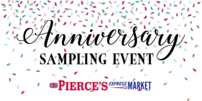 Anniversary Sampling Event