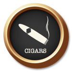 Cigars Button