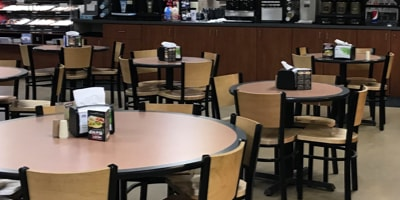 Deli Dining Area