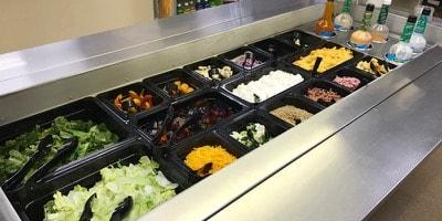 Self Serve Salad Bar