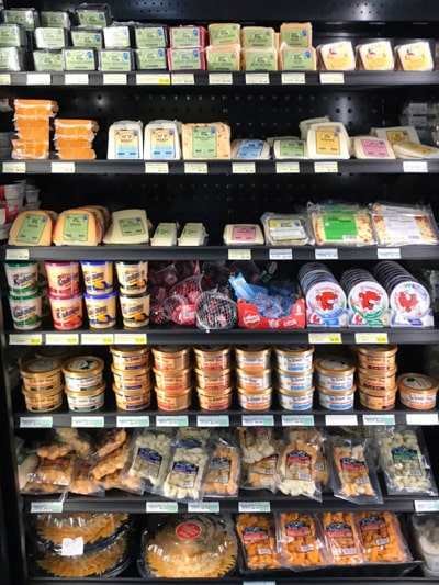 Specialty Cheeses & Spreads